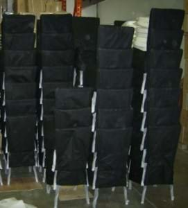 Resin Chiavari Chairs Ready for Shipping