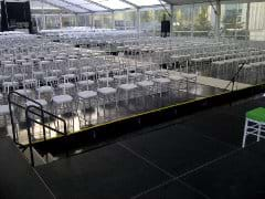 Silver Chiavari Chairs at Big Red Chair Events