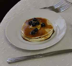 Snow Drop Pancakes