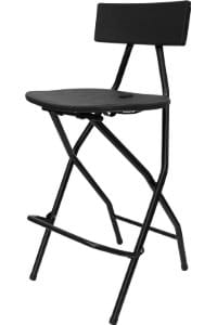 Nes Reliable Bar Height Folding Chair