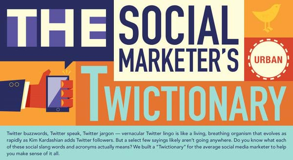 Social Marketers Twictionary Infographic