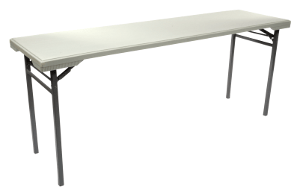 6-ft NES Reliable Plastic Folding Training Table