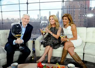 Anderson, Kathie, and Hoda Big Wine Glasses
