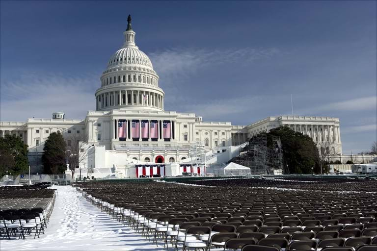 Capitol building for inauguration