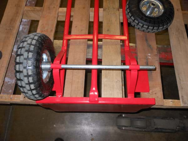 Axle in Place