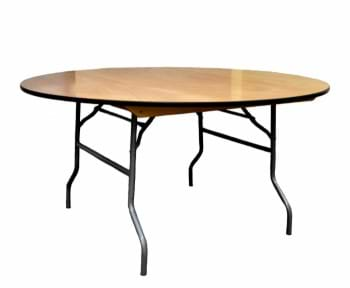 NES 66 Inch Round Folding Table