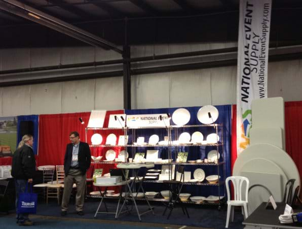 Picture of Booth at the BC CRA Regional Trade Show