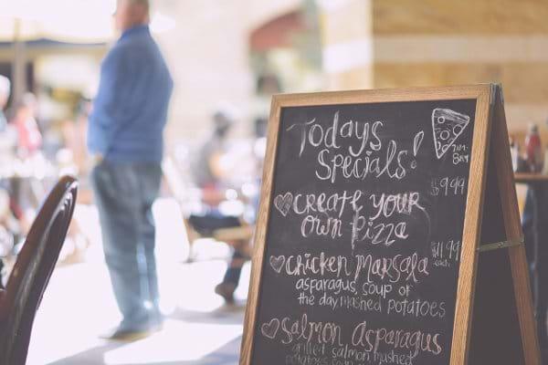 Restaurant food delivery market menu optimization