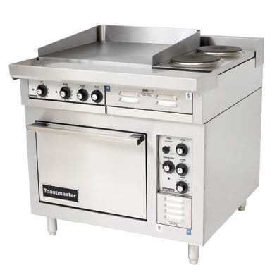 Commercial Gas Ranges Vs Commercial Electric Ranges For