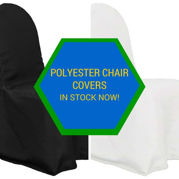 Polyester Chair Covers Now in Stock