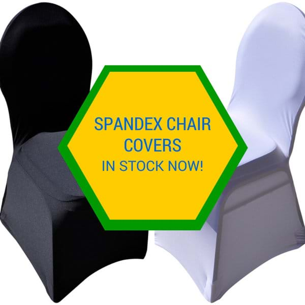 Spandex Chair Covers NOW IN STOCK