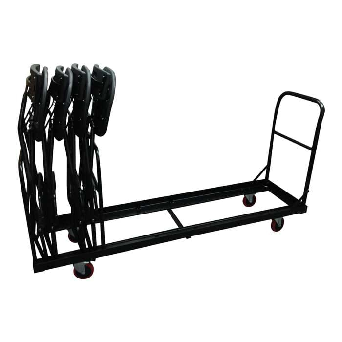 folding bar chair cart with 4 chairs