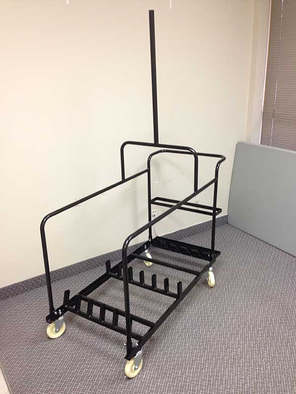 Pole on Y Support for Cruiser Table Cart