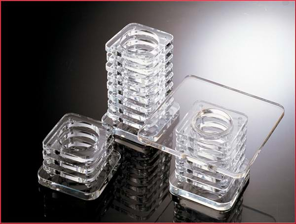 3inch Crystal Block Stand