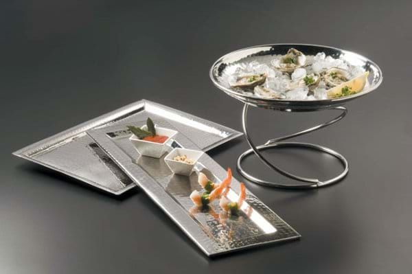 American Metalcraft Hammered Metal Trays
