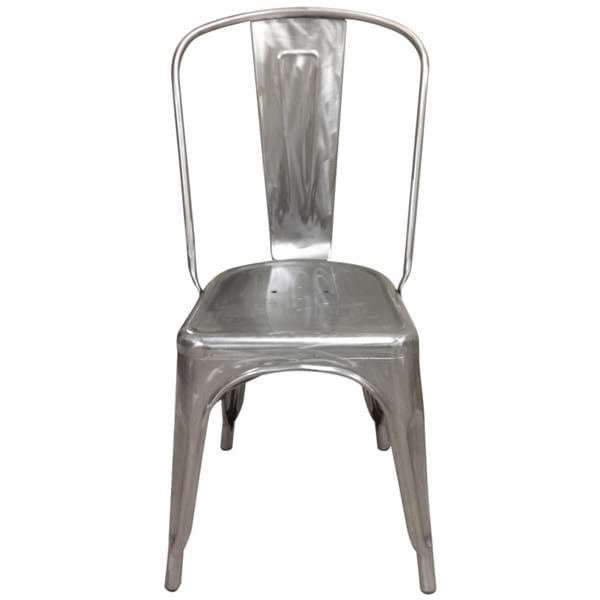 Industrial Metal Dining Chairs