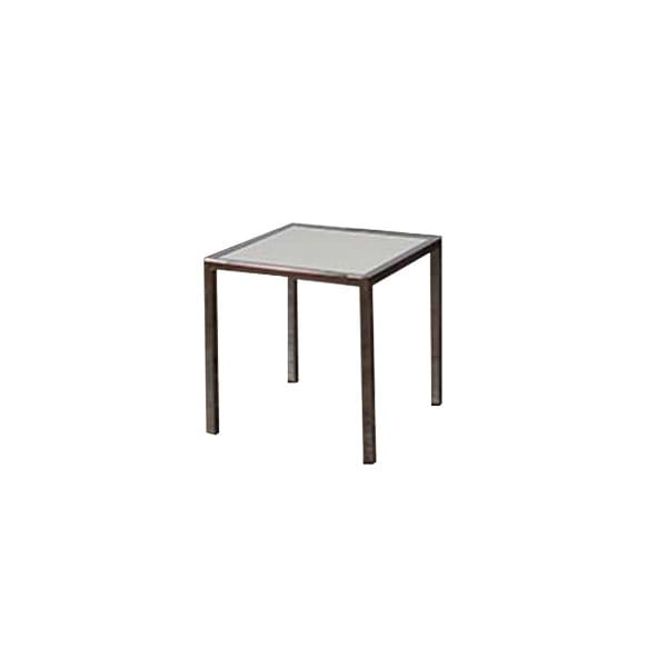 Chrome with Plexiglass End Table