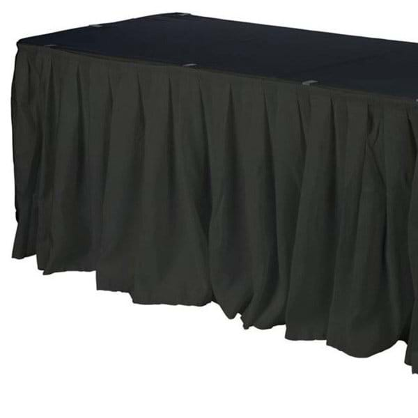 17ft Polyester Table Skirt