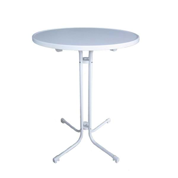 High Folding Pedestal Table
