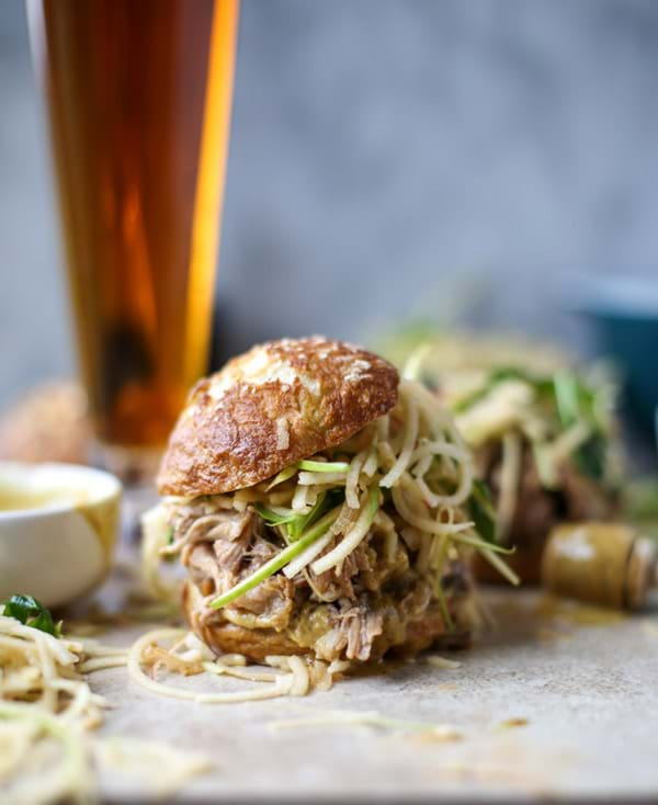 Pulled Pork with Apple Slaw