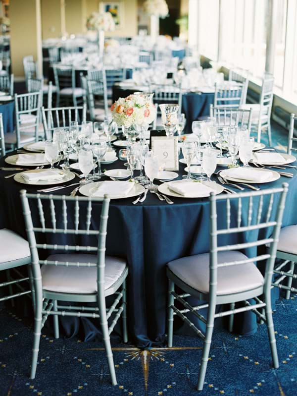 Silver Chairs at an Event
