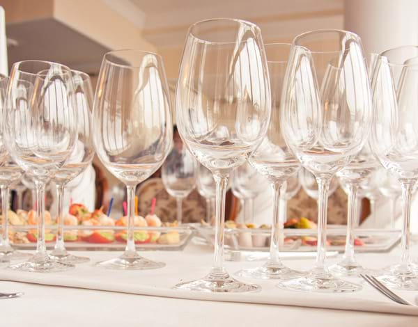 Volume Discounts on Crystal and Glass Stemware