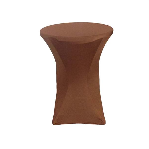 Chocolate Spandex Cocktail Cover