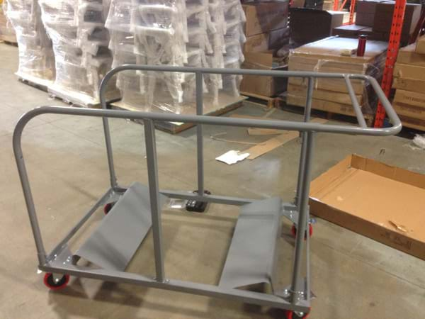 Round Table Carts 5-ft