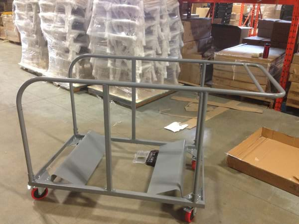 Round Table Carts 6-ft