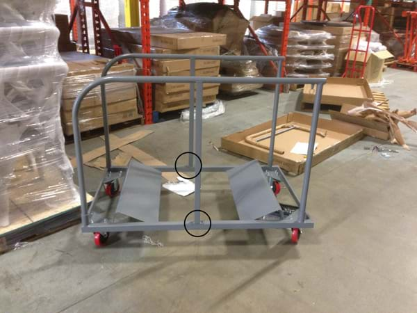 Round Table Cart Middle Pole