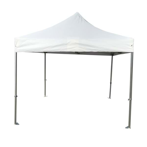10x10 Aluminum Frame tent Set-Up