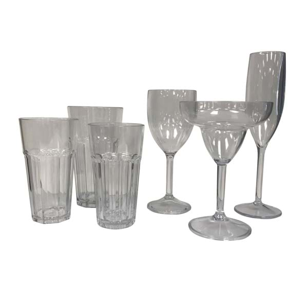 Reusable Polycarbonate Beverageware