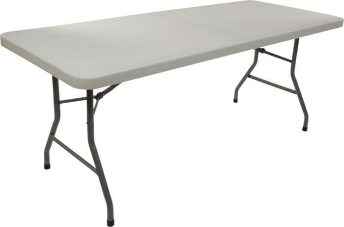 8ft Plastic Folding Table 8 Foot Folding Tables