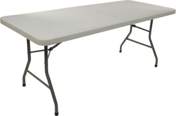Picture of NES Reliable 8ft Rectangle Plastic Folding Table