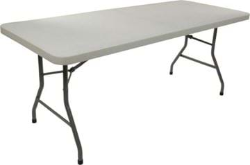 Picture of NES Reliable 6ft Rectangle Plastic Folding Table