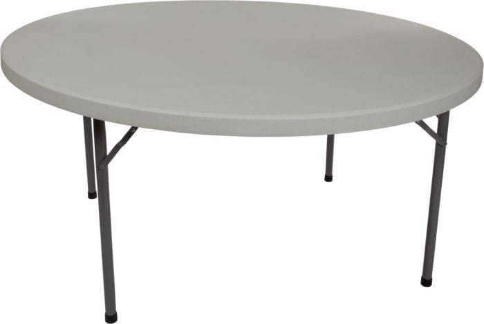 60 round plastic folding table round banquet tables national event supply. Black Bedroom Furniture Sets. Home Design Ideas