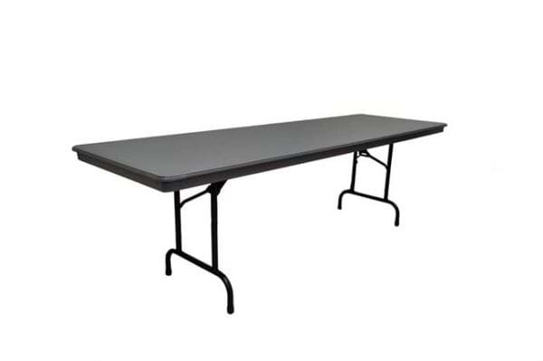 Picture of NES Reliable 8ft Rectangle ABS Folding Table