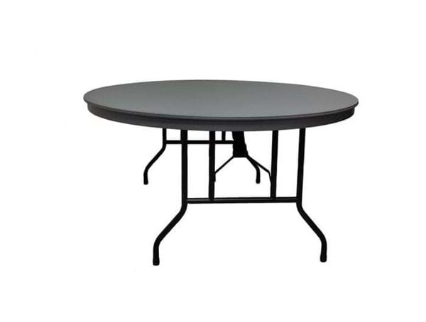 "Picture of NES Reliable 72"" Round ABS Folding Table"