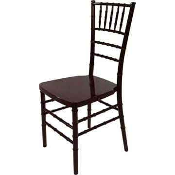 Picture of NES Reliable Mahogany Resin Chiavari Chair