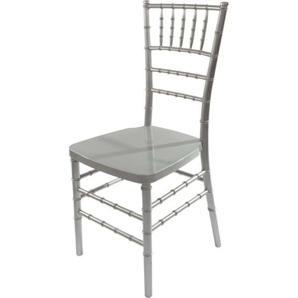 Picture of NES Reliable Silver Resin Chiavari Chair