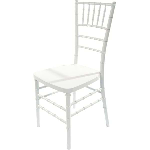 Picture of NES Reliable White Resin Chiavari Chair
