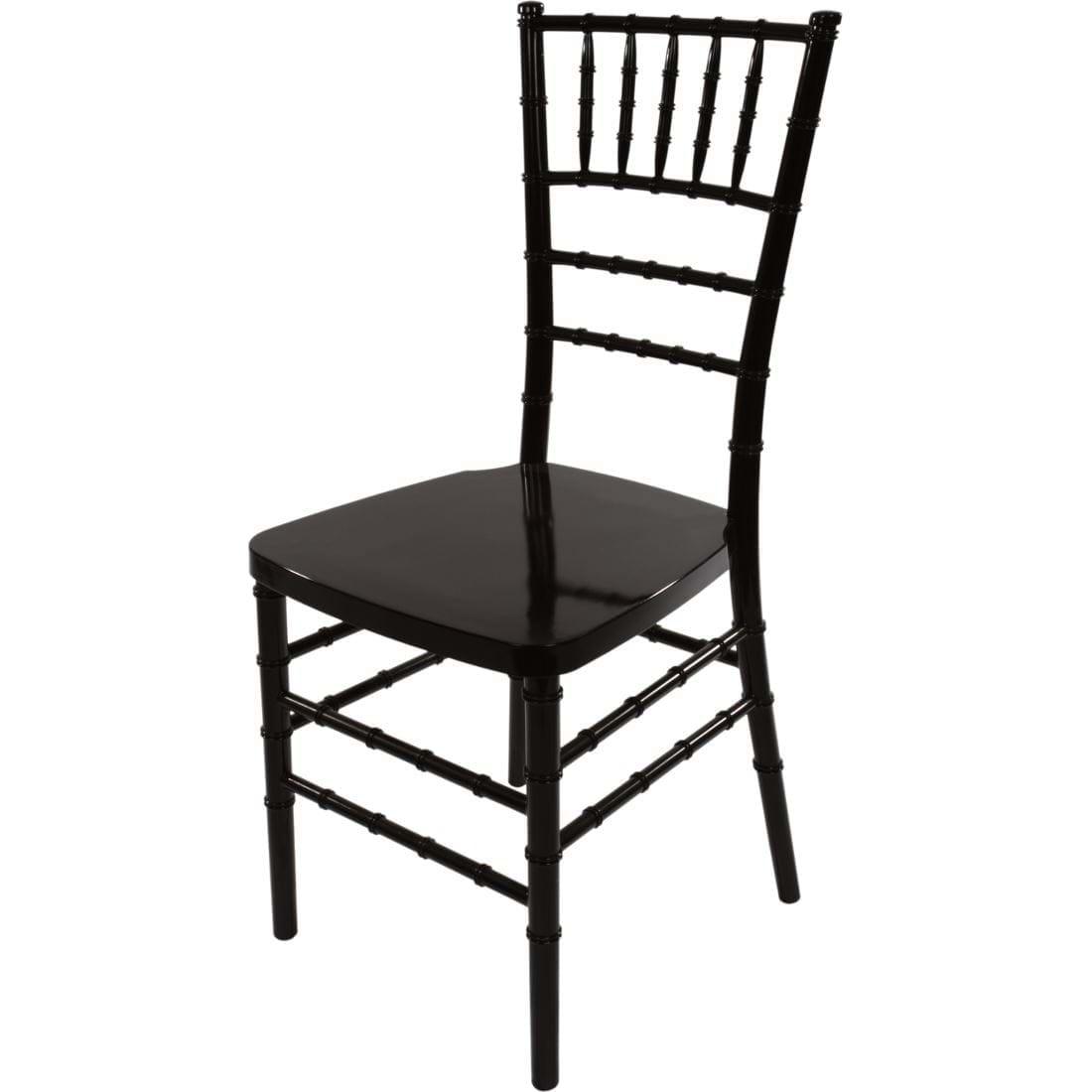 Black Resin Chiavari Chairs Black Chiavari Chair