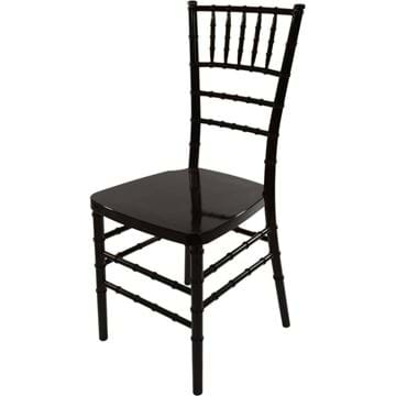Picture of NES Reliable Black Resin Chiavari Chairs