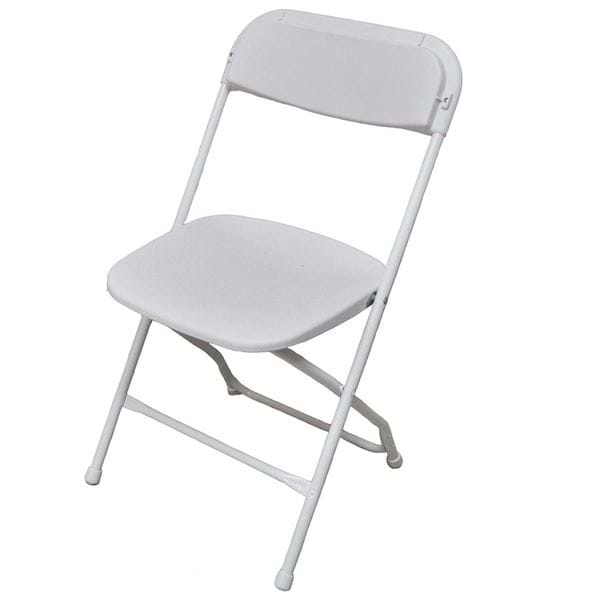 Picture of Wedding White Plastic Folding Chair