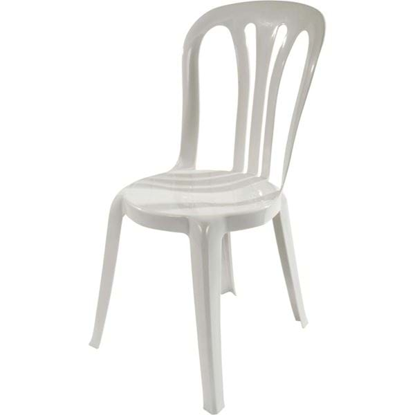 Charmant Picture Of NES Reliable White Bistro Chair
