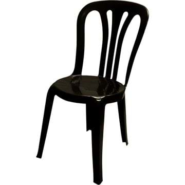 Picture of NES Reliable Black Bistro Chair