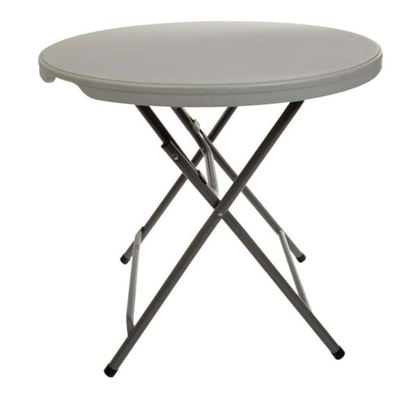 "Picture of NES Reliable 32"" Low Plastic Folding Cocktail Table"