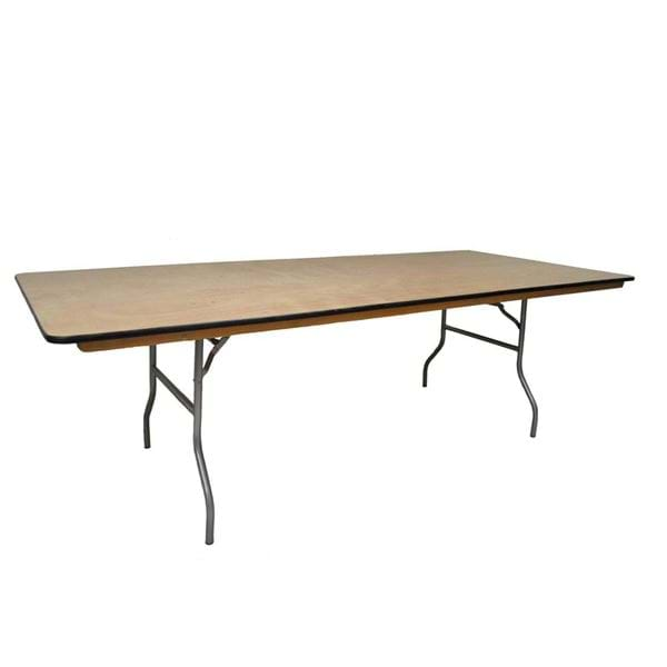 "Picture of NES 8ft x 42"" Wood Rectangle Harvest Table"