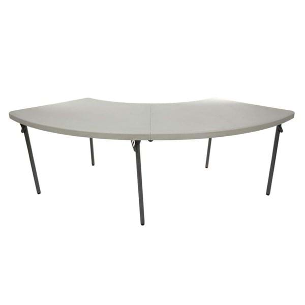Ordinaire Picture Of NES Reliable Plastic Folding Serpentine Table