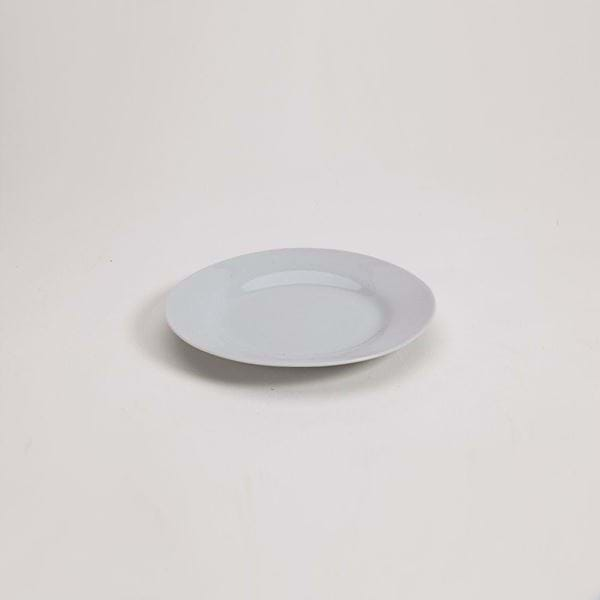 "Picture of Pearl White 6"" Side Plate"